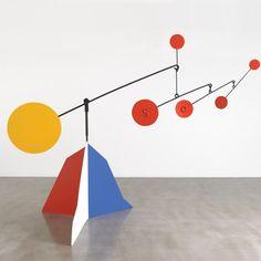 Balancing Act: Alexander Calder and the Cosmos Jean Arp, Alexander Calder Sculptures, Mobiles For Kids, Mobile Sculpture, Mobile Art, Kinetic Art, Mondrian, Elements Of Art, Elementary Art