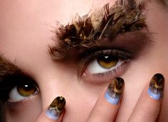 Ciate feathered manicure