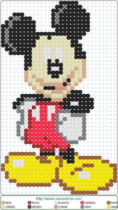 Perler Beads, Perler Bead Art, Fuse Beads, Pearl Beads Pattern, Hama Beads Patterns, Beading Patterns, Counted Cross Stitch Patterns, Cross Stitch Charts, Perler Bead Disney
