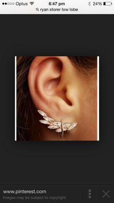 Ryan storer low lobe ear cuff