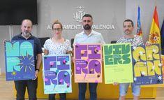 El Ayuntamiento de València presenta la cartelería de la Gran Fira 2019, diseñada por Estudio Menta