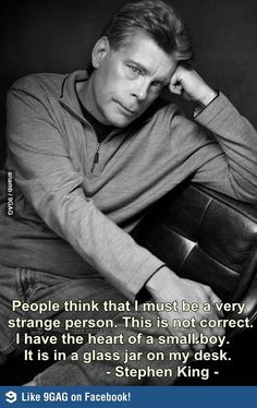 Classic Stephen King  ;-)