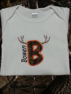 Machine Embroidered Short Sleeve or Long by EmbStitchbyStitch, $25.00