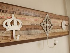 love the yardstick idea...maybe for a desk or table??
