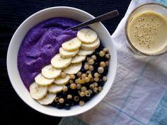 """Energiaa aamuun: marjainen hamppu-seesam""""jogurtti"""""""