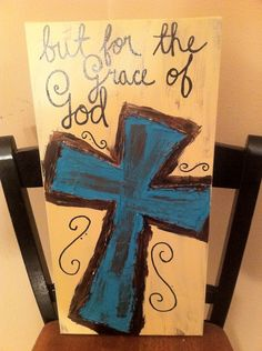 Canvas Cross Wall Hanging by ClassyCanvas on Etsy, $38.00