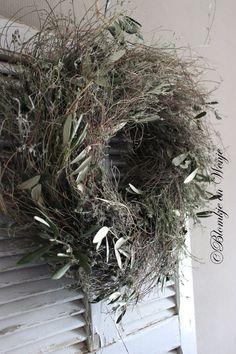 wreath kranz krans stoer sober landelijk