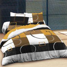 Orlando - Cotton Bed Linen Set (Duvet Cover & Pillow Cases) Cotton Bedding, Linen Bedding, Geometric Bedding, Duvet Cover Design, Bed Linen Sets, King Size, Comforters, Pillow Covers