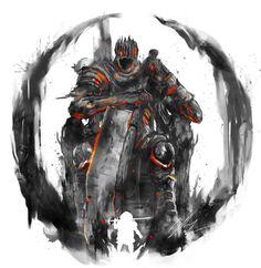 yhorm the giant dark souls 3 - yhorm the giant + yhorm the giant art + yhorm the giant wallpaper + yhorm the giant dark souls 3 Sif Dark Souls, Dark Souls Art, Dark Fantasy Art, Dark Art, Legolas, Soul Saga, Character Art, Character Design, Soul Tattoo