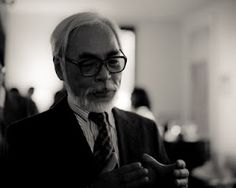 hayao miyazaki! creative genius behind most studio ghibli films.
