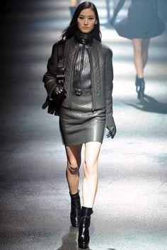Lanvin Fall 2012 Ready-to-Wear Fashion Show - Lina Zhang