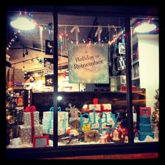 Our 2012 Holiday Window