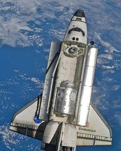 Open cargo Bay, space shuttle.