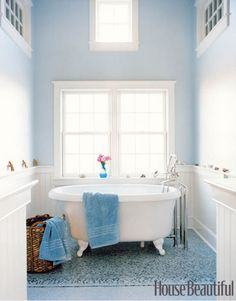 . . . soaking tub