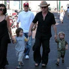 They're so cuteee❤ #bono #u2 #alihewson #johnhewson #elijahhewson