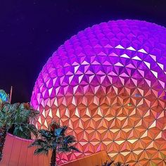 Pin for Later: 39 Disney World Facts That Even Die-Hard Fans Don't Know Epcot is 32 years old. The discovery showplace covers 305 acres and first opened on Oct. Disney World Facts, Disney World 2017, Disney Parks, Disney Pin Display, Spaceship Earth, Epcot, Fun Facts, Photo Galleries, Beautiful Pictures