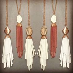 Lavish Leathers - Handcrafted Leather Tassel Necklaces