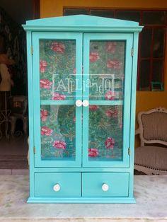 Ateliando - Customização de móveis antigos: Porta chaves Antigo