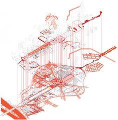 AXO_URB_Paris' CBD La Défense Strategic Masterplan | Masterplan/Strategic Plan | Projects | AWP