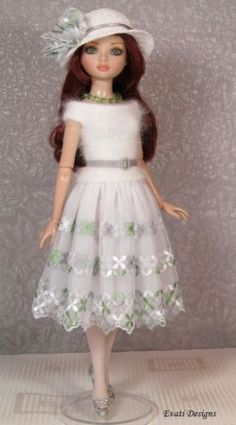 OOAK outfit for ELLOWYNE WILDE, by *evati* via eBay SOLD 11/2/15  $59.51