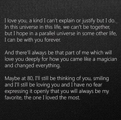 My kind of love! Couples Quotes Love, True Love Quotes, Couple Quotes, Love Quotes For Him, My Kind Of Love, I Love You, Cant Be Together, Life Partners, Personality Types
