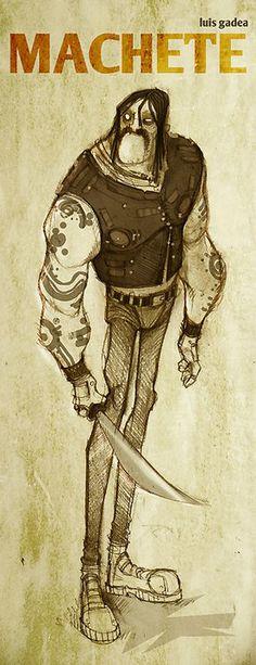 Luis Gadea - Drawings
