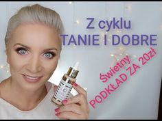Świetny PODKŁAD z Rossmanna :) test Christian Laurent Hair Beauty, Make Up, Christian, Womens Fashion, Youtube, Handmade, Hand Made, Women's Fashion, Christians
