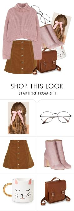 """""""✨✨"""" by taaniia ❤ liked on Polyvore featuring Francesca's, Topshop and Laurence Dacade"""