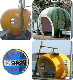 Japanese Bus Stops