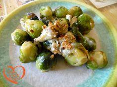 Cavolini gorgonzola e nocciole