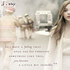 Would it make you invincible? | If I Stay