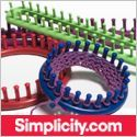 Simplicity.com - Free tutorials for knitting with a loom