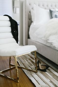 Bedroom Makeover via could i have that?