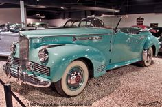1942 Packard Victoria Convertible by Renodesertfox - what a lovely color, and so sparkly!