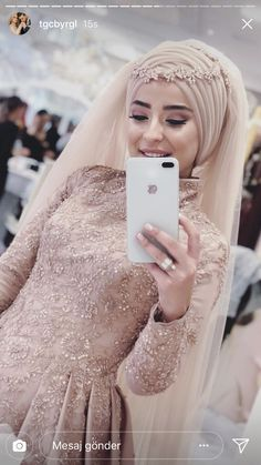 aman Allah sa e mira qe eshte Tesettür Abiye Modelleri 2020 Wedding Abaya, Muslim Wedding Gown, Hijabi Wedding, Muslimah Wedding Dress, Hijab Style Dress, Muslim Wedding Dresses, Muslim Brides, Muslim Dress, Muslim Girls