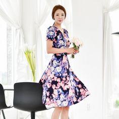 Korean Fashion Online Store 韓流 Trends Luxe Asian Women 韓国 Style Shop korean clothing Rendezvous Dress