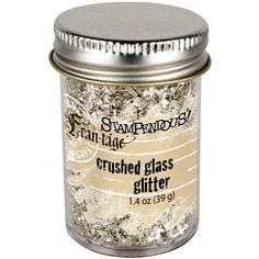 Stampendous FranTage Glitter Glass Silver by ScrappyStuffSupplies, $5.99