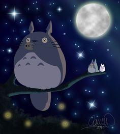 My Neighbor Totoro By Camii97