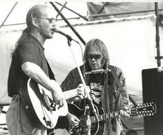 Warren Zevon and Neil Young