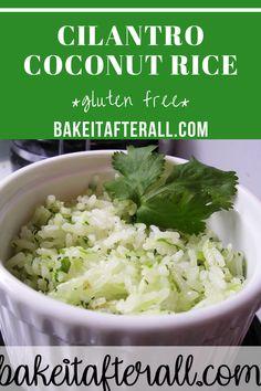 Gluten Free Recipes Side Dishes, Dinner Recipes, Gluten Free Rice, Vegan Gluten Free, Cooking Basmati Rice, Hawaiian Chicken, Coconut Rice, Jasmine Rice, Fresh Ginger