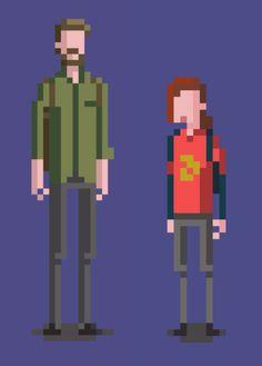 The last of us pixel art