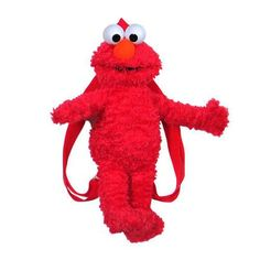Elmo plush backpack featuring adjustable shoulder straps and zipper Elmo Toys, Journeys Kidz, Bookmarks Kids, Elmo Party, Jim Henson, Kids Backpacks, My Baby Girl, Baby Care, Plushies