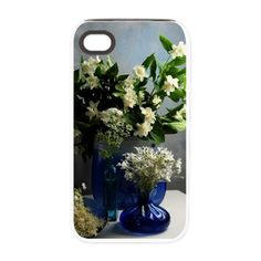 White Elegance from the Gar iPhone 4/4S Tough Case on CafePress.com