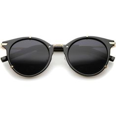 Vintage Dapper Steampunk Horned Rim Sunglasses A239 ($14) ❤ liked on Polyvore featuring accessories, eyewear, sunglasses, round glasses, horn rimmed glasses, round mirrored sunglasses, vintage round sunglasses and round sunglass