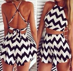 Black and white, perfect!