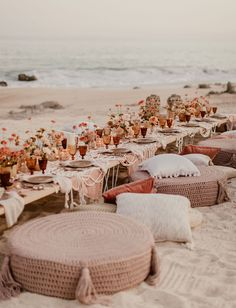 Mexico is calling - answer by planning an unforgettable destination wedding with beautiful boho styling and a dreamy beachfront ceremony! wedding invites Boho in Mexico: 4 Tips for an Unforgettable Destination Wedding in Mexico Boho Beach Wedding, Beach Wedding Inspiration, Dream Wedding, Wedding Ideas, Beach Weddings, Destination Weddings, Beach Wedding Tables, Wedding Picnic, Green Weddings