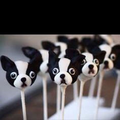 Ahh my dog as a cake pop!