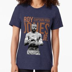 bfa6e6353cc Roy Jones Jr. Tri-blend T-Shirt