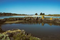 Lagoons Within (2017).  I am led back towards the start point of my walk around Griffiths island, the various manmade lagoons within the gap between the mainland showing some of Port Fairy's maritime past.  Port Fairy, Vic. Australia. Words & Image: © Gary Light (9757, Jan 2017). Creative Commons: (CC BY-NC-ND 4.0).