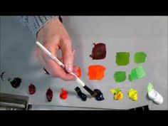 Colour Theory & Mixing - The Basics - YouTube Little wordy and she stumbles over her colors occasionally but the theory is great.